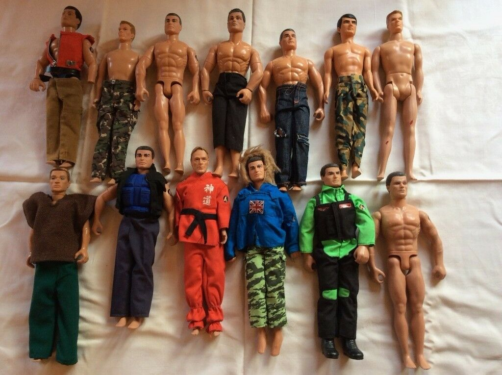 Action Men 1980's Bundle with Climbing Tower, Motorbikes and Accessories