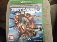 Just cause 3 Xbox one game