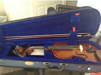 Stentor Violin 4/4, with extras. perfect condition