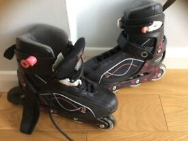Ladies roller blades