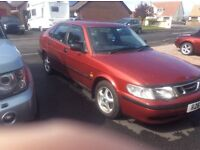 Saab 9-3, long mot, £550 Ono, loads of history,poss swap or p/ex