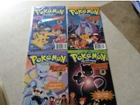 Limited Edition Pokemon Signed Comics Mewtwo Strikes Back