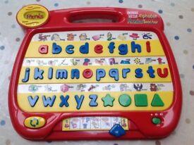 Vtech Alphabet Phonics Teacher