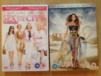 Sex And The City - The Movie DVD & Sex And The City - The Movie 2 DVD.