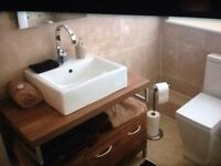 Butler style Sink and cabinet