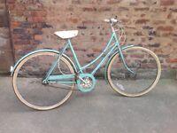 Raleigh caprice ladies upright town bike