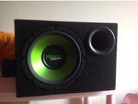 Fusion Encounter Subwoofer & amplifier
