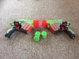 Nerf vortex proton pair of guns