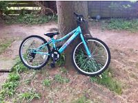 "Apollo Kinx Girls' Hybrid Bike - 24"" 2015 - £45"