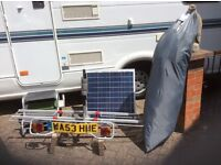 Two birth with a spacious rear lounge, in a very good condition