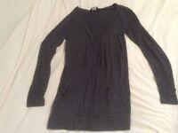 Ladies' cardigan and bodywarmer size 10