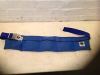 Diving shot weight belt with 7kg of weight
