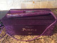 Purple genuine ghd straighteners been