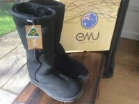 New Natural Sheepskin Boots - EMU Australia 'Stinger Hi'