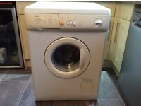 6KG Zanussi Washing Machine In Excellent Condition (Can Deliver)