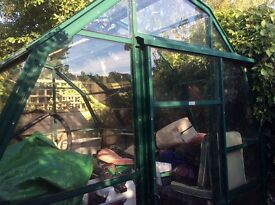 Greenhouse free to collecter will need to dismantle too, 3m by 2metres.