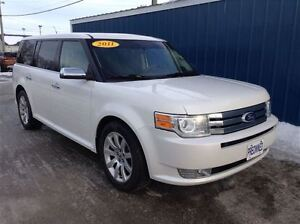 2011 Ford Flex Limited 4D Utility AWD Leather*Moonroof*Extra Cle