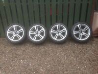 "BMW X3 F25 M Sport 19"" Alloy Wheels with Pirelli P Zero Run Flat tyres"