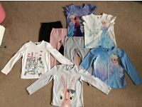Girls Clothes Bundle Marks and Spencer Age 5-6/6-7 Includes Frozen