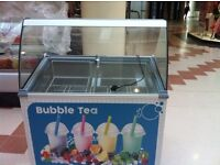 scoop ice cream display freezer, 5litters 7tubs can be display, very good condition , white colour