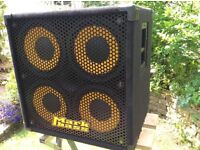 """MARKBASS 4x10"""" Bass Guitar Cabinet...rarely used"""