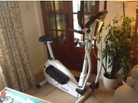 Reebok Pure + 2 in 1 exercise bike and cross trainer