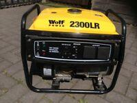 Four stroke petrol genarator
