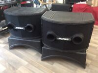 Bose 802 MK II speakers with cover/ lids/ EQ controller system