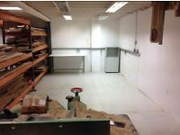 Workshop space to let, access to wood working machinery, showroom on site.