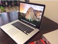 Apple MacBook Pro - Core i7 - 15.4inch, 1TB HD, Quad Core., El Capitan