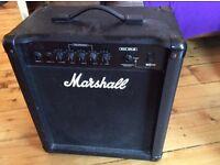 Marshall Bass Practice Amp