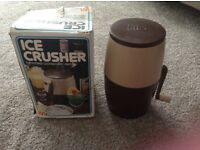 ICE Crusher Lillo Vintage Retro cocktails..Original with box