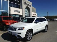 2015 Jeep Grand Cherokee Summit, Dealer Demo/Loaner