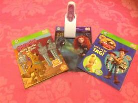 Leap Frog Leap Reader with 3 books