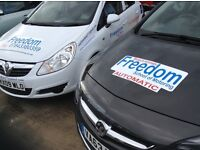 Freedom School of Motoring, Manual & Automatic Driving Lessons