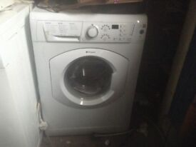 Hot point acquarius washing machine ,7 kg load,£85.00