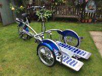 Electric Velo-plus 2 Wheelchair Bike