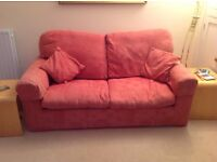 SPRING LOADED PULL OUT DOUBLE SOFA BED - CAN BE USED AS COUCH