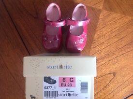 Girls startrite shoes 6G