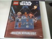 Lego 2017 Star Wars annual , with 2 minifigs