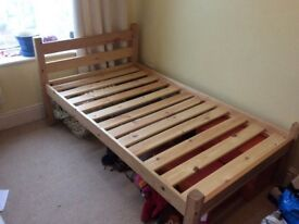 Two single beds - short length