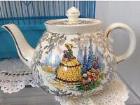 Vintage Gibson Crinoline Lady Tea Pot
