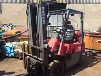 Forklift Nissan gas 1.5ton superb condition