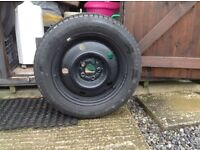 Pirelli Cinrurato tyre and wheel (Subaru Legacy Estate) 195/50 R15 used