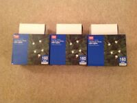 ARGOS 160 Christmas Lights – Plug In – Bright White LED