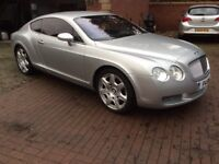 2005 05 Bentley Continental GT Mulliner Edition,Very high spec,probably cheapest milliner today,