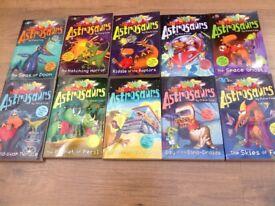 Set of 10 Astrosaurs Books