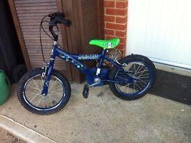 """Boys bike 16"""""""