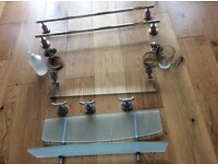 Quality stainless steel bathroom fittings £35 ono