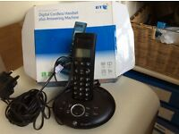 BT Graphite 1500 Digital Cordless Handset plus Answering Machine
